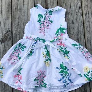 Carter's Dresses - Botanical print, girls party dress (24 mo)